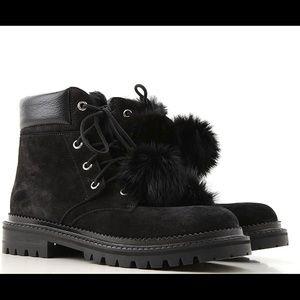 Jimmy Choo Elba flat boots size 37.